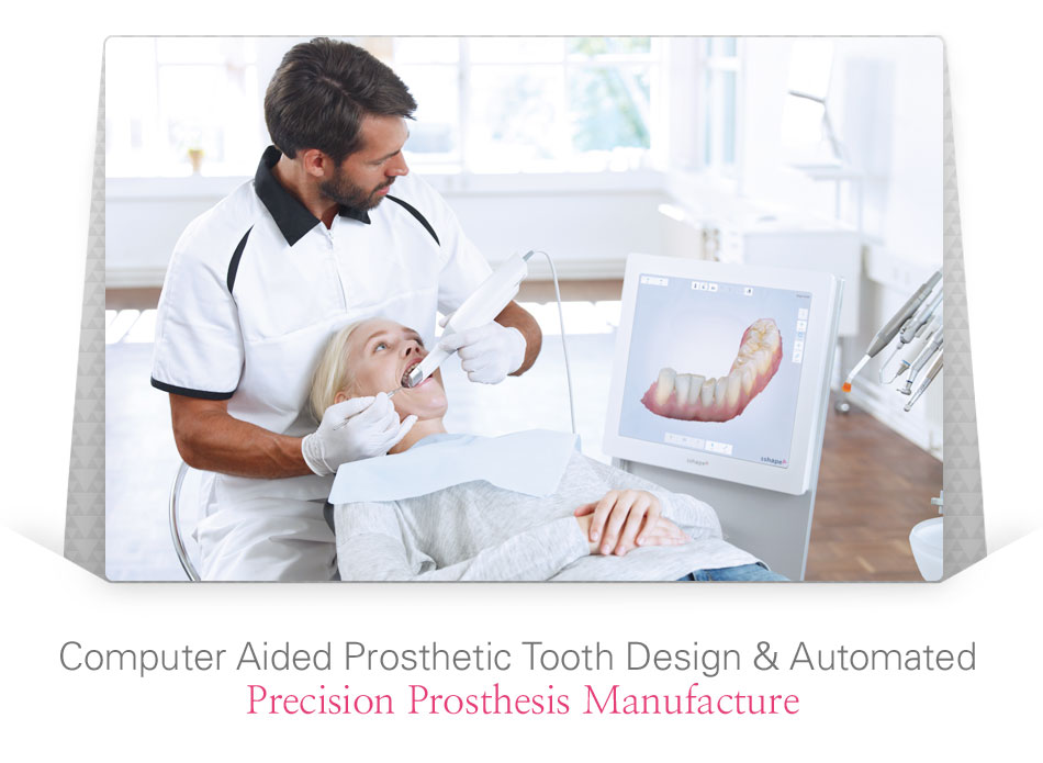 Computer Aided Prosthetic Tooth Design & Automated 